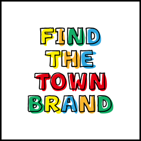 FIND THE TOWN BRAND